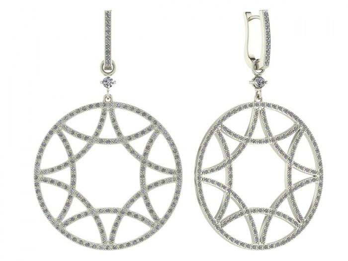 Detachable Diamond Circle