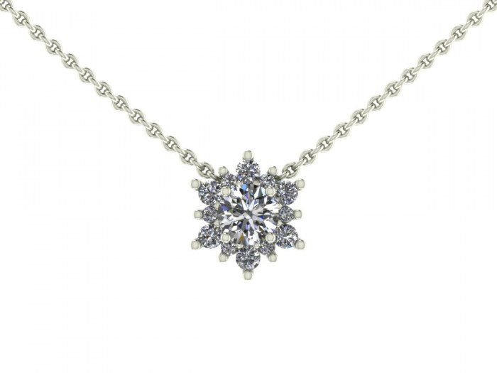 Vega Diamond Necklace