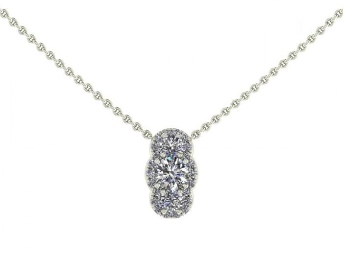 Santorini Diamond Necklace