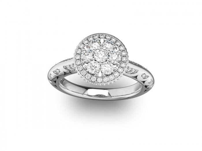 Riviera Diamond Ring