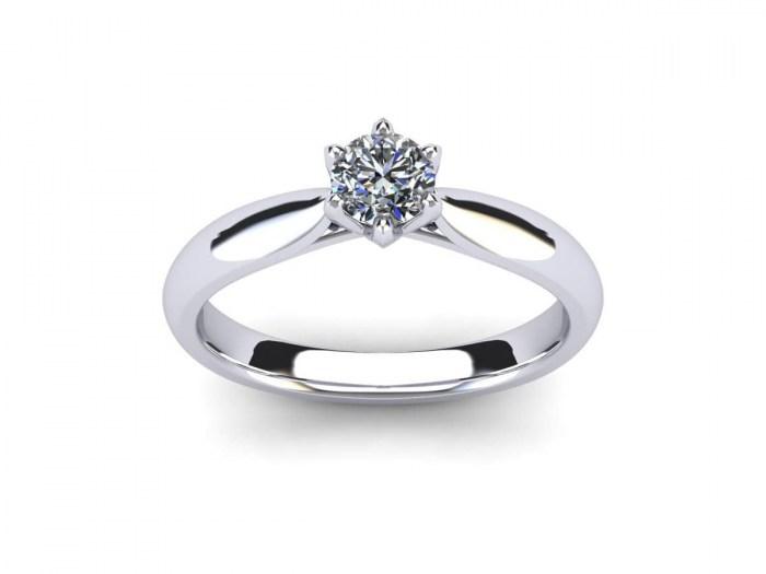 Tulip Diamond Ring