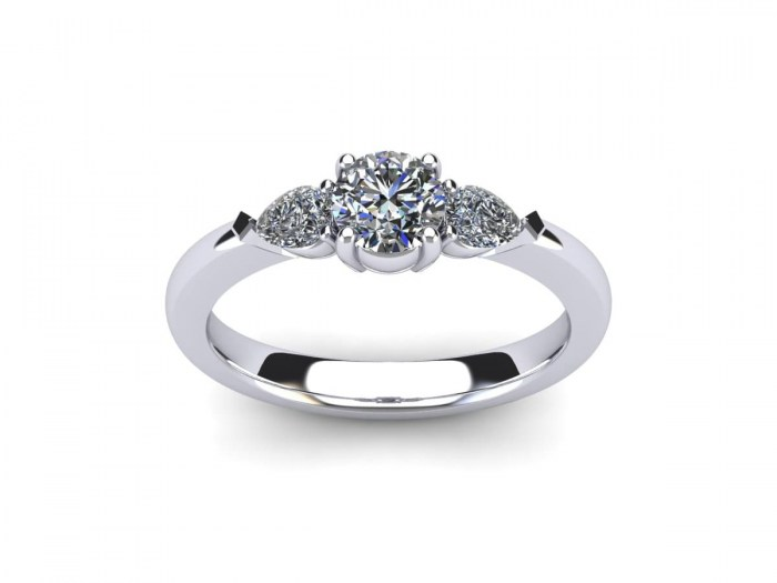 Classic Three Diamond Ring