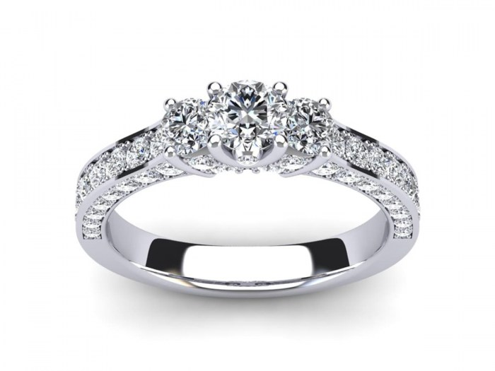 Classic American Engagement Ring