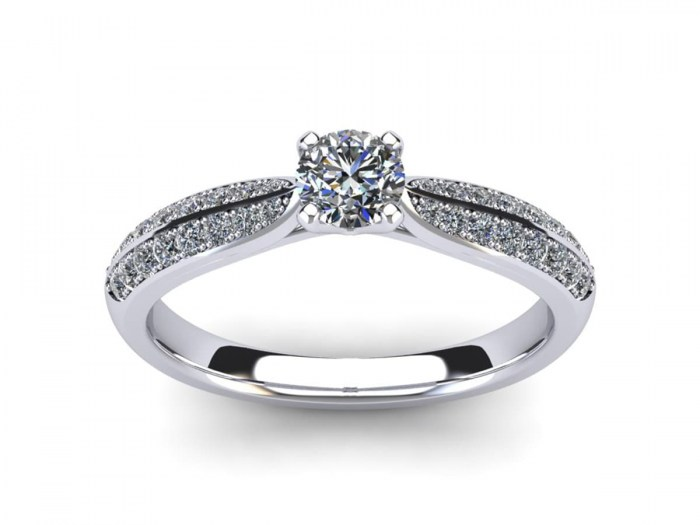 Eternal Diamond Engagement Ring