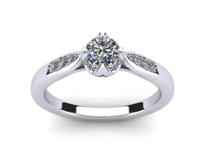 Endless Love Engagement Ring