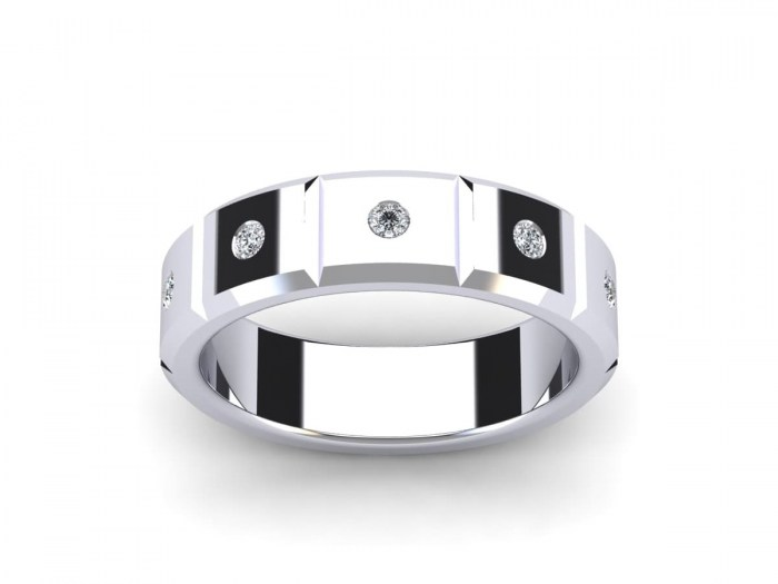 Diamond Sectioned Band