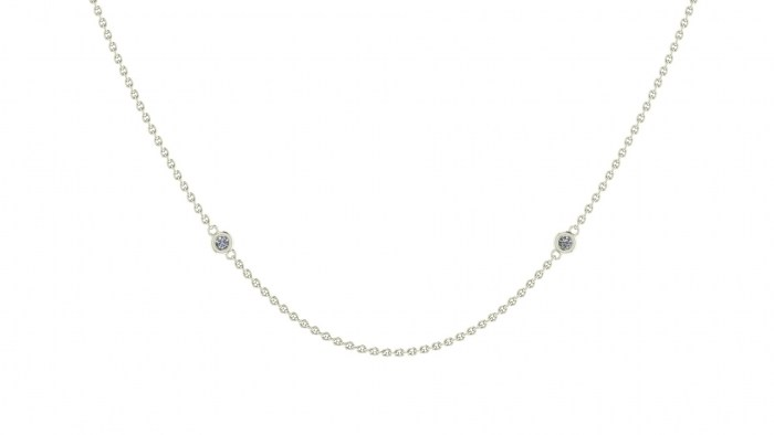 004 Diamond Drizzled Necklace