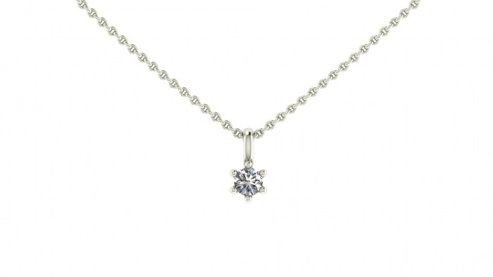 020 Six Prong Necklace