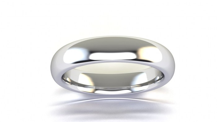 Curved 4 MM Band