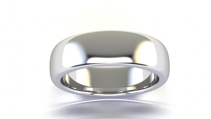 Curved 6 MM Band