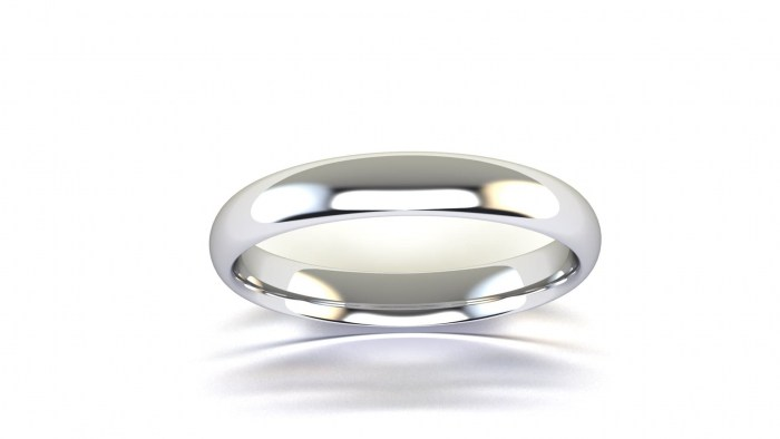 Thin 3 MM Curved Band