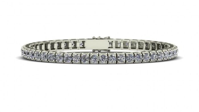 Bead Set Tennis Bracelet