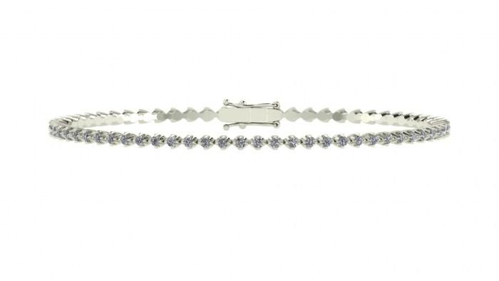 Crown Diamond Bracelet