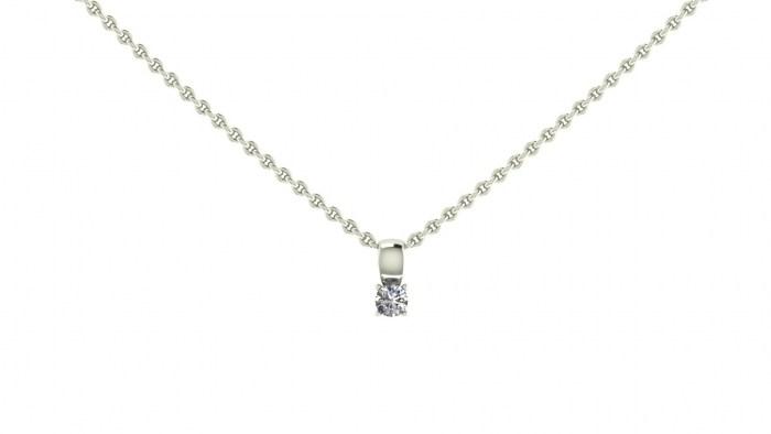 008 Loop Solitaire Necklace