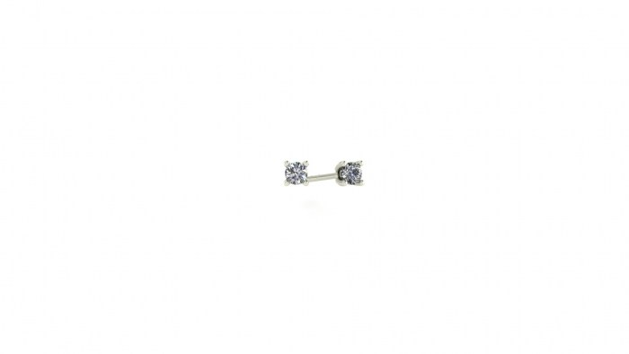 Petite Classic Four Prong Studs