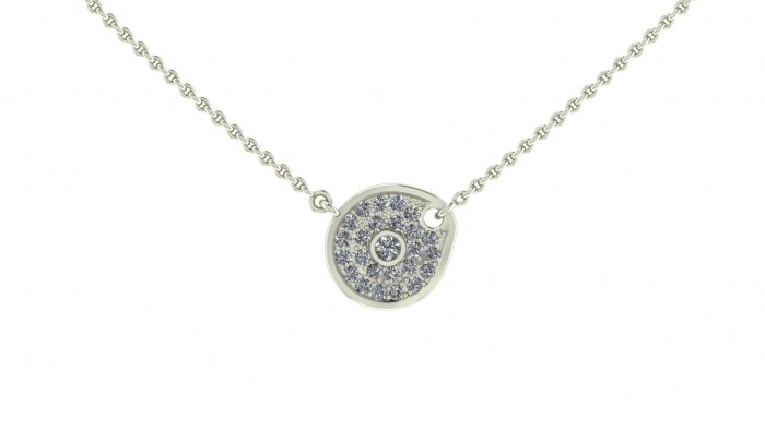 Dali Diamond Necklace