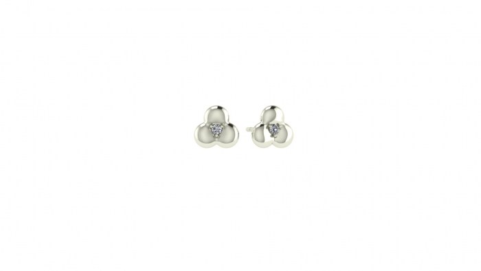 Diamond Bloom Studs
