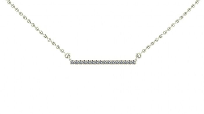 Diamond Bridge Necklace