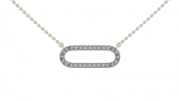 Diamond Corona Necklace