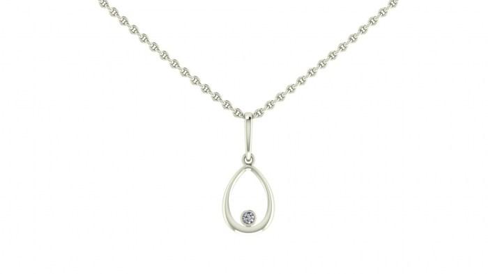Diamond Drip Necklace