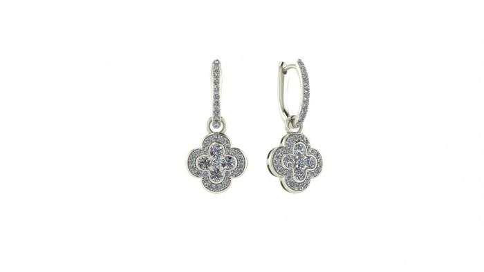 Diamond Invictus Earrings
