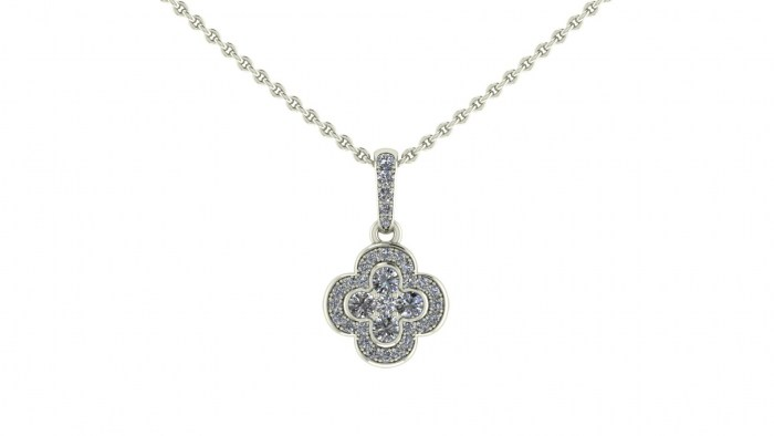 Diamond Invictus Necklace