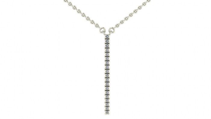 Diamond Stripe Necklace