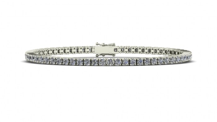 Fine Diamond Tennis Bracelet