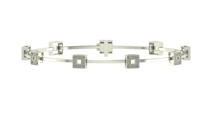 Love Links Diamond Bracelet