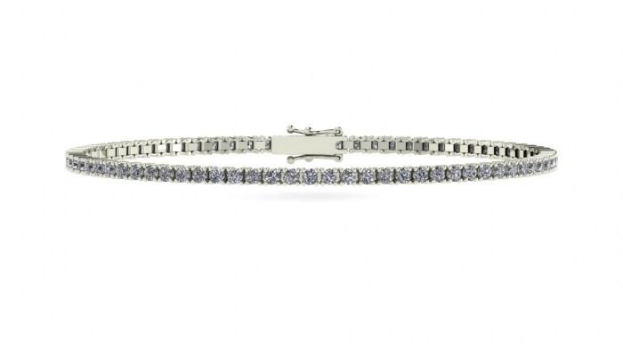 Petite Diamond Tennis Bracelet