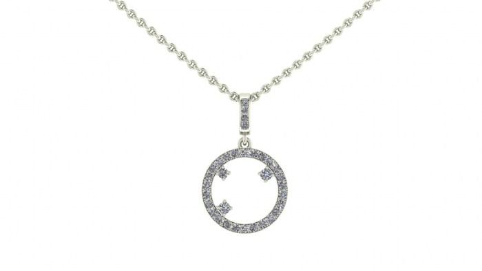 Starry Night Diamond Necklace