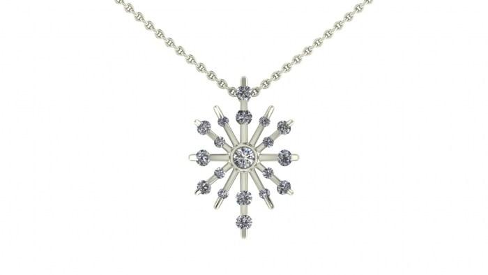 Wish Diamond Necklace