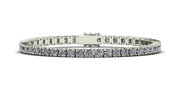 XXL Diamond Tennis Bracelet