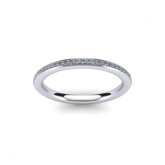 006 Bead Set Eternity Ring