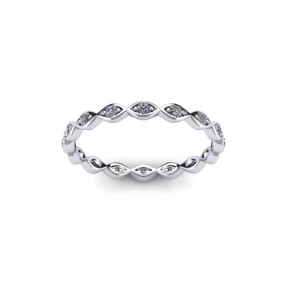 Petite Marquise Eternity Ring