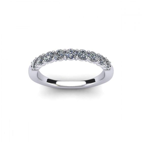 9 Stone Leonardo Ring