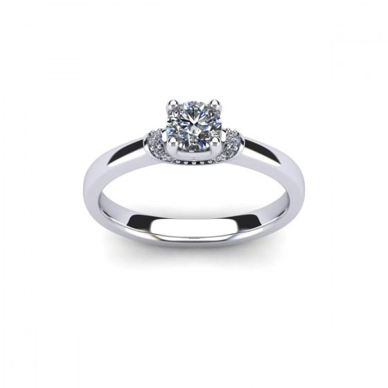 Regal Diamond Engagement Ring