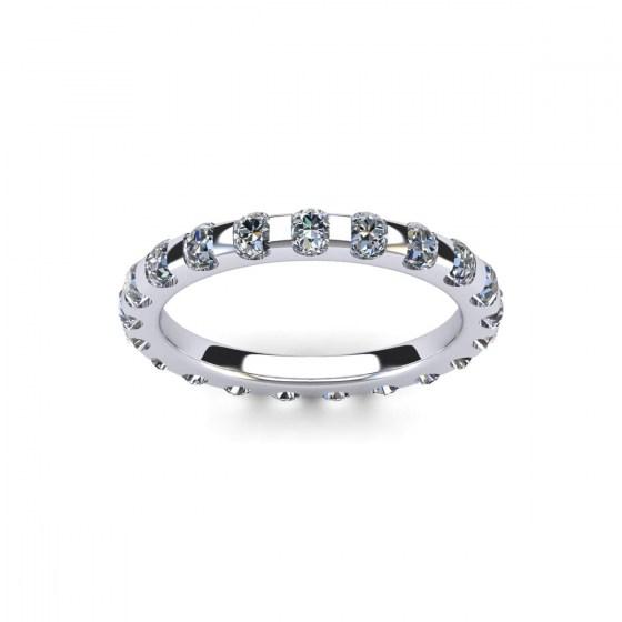168 Petite Channel Set Diamond Eternity Ring