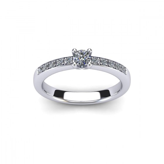 Tuileries Garden Engagement Ring