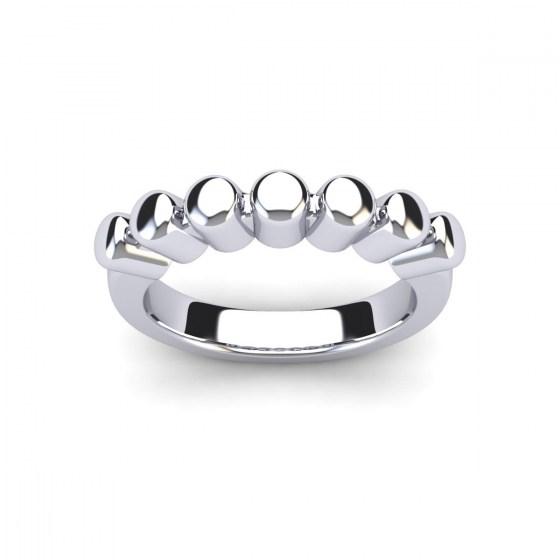 Prong Band Ring