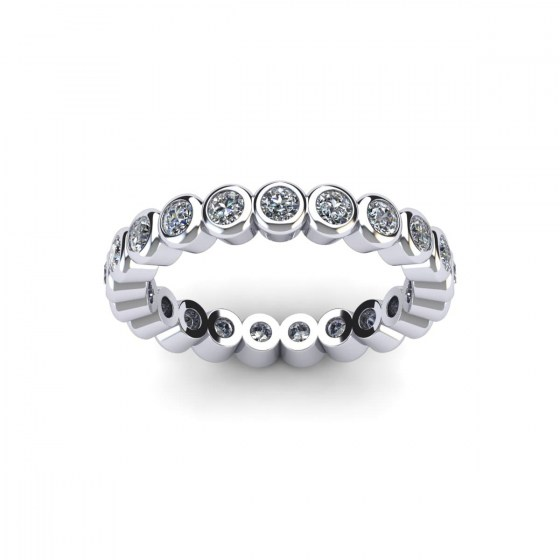 05 Bezel Set Eternity Ring