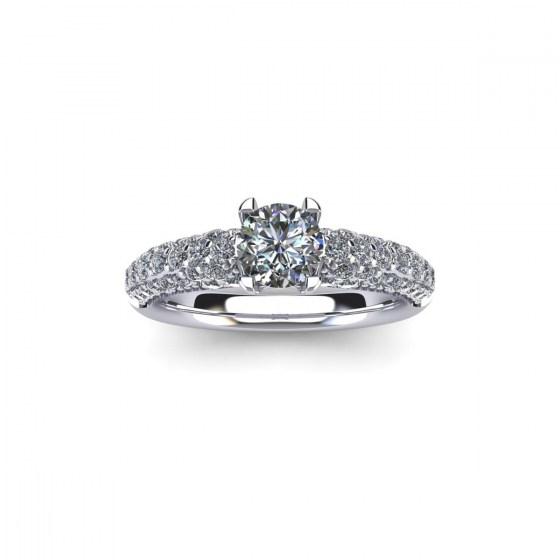 XL Prong Set Engagement Ring