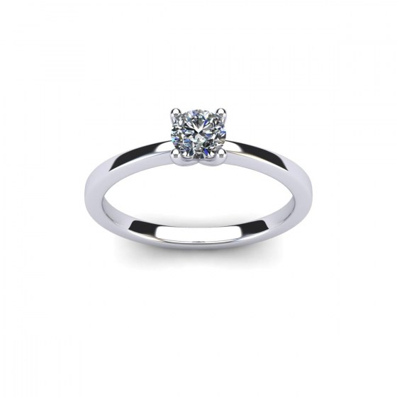 Four Prong Classic Solitaire