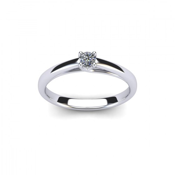 011 Radiant Heart Engagement Solitaire
