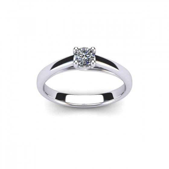 025 Radiant Heart Engagement Solitaire