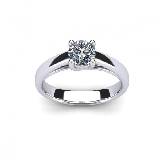 060 Radiant Heart Engagement Solitaire
