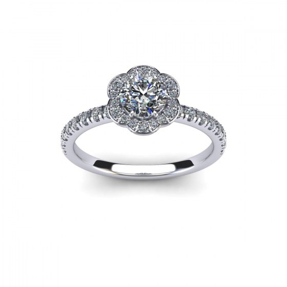 Blossoming Orchard Engagement Ring