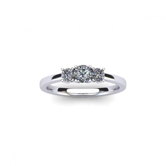 Essential Three Diamond Ring
