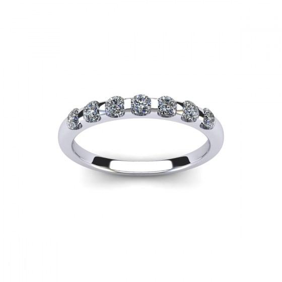 050 Seven Stone Modern Reveal Ring