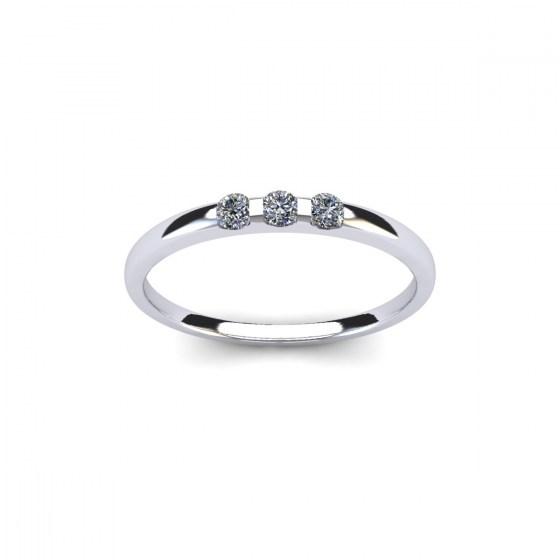 015 Three Stone Modern Reveal Ring